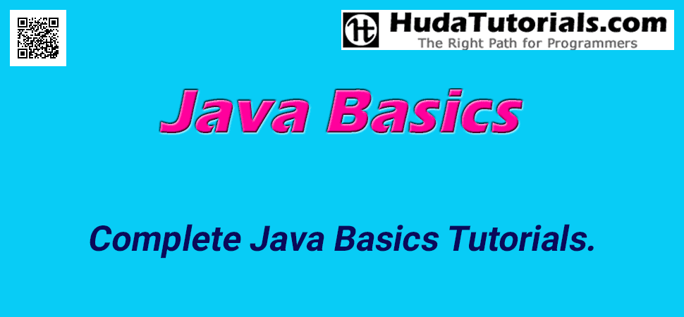 Complete Java Basics Tutorials.