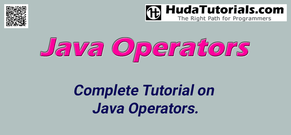 Complete Tutorial on Java Operators.